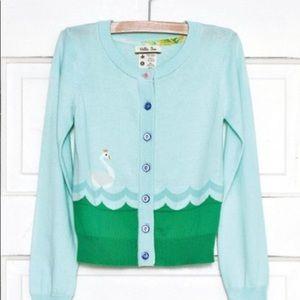 EUC Matilda Jane Cardigan girls Size 10
